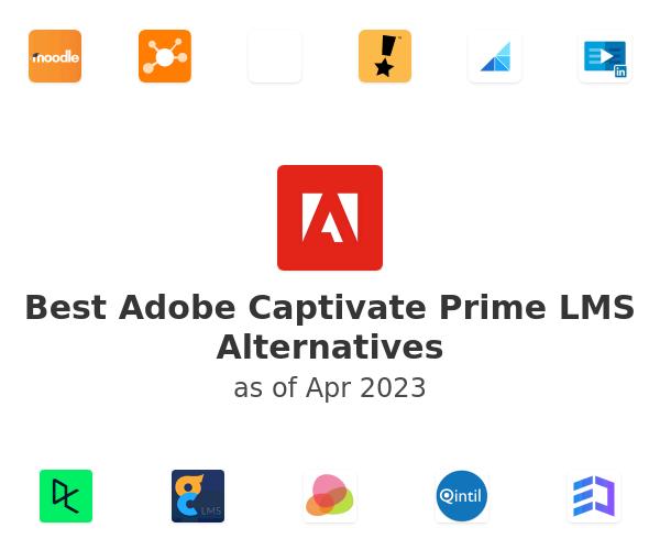 Best Adobe Captivate Prime LMS Alternatives