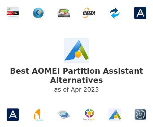Best AOMEI Partition Assistant Alternatives