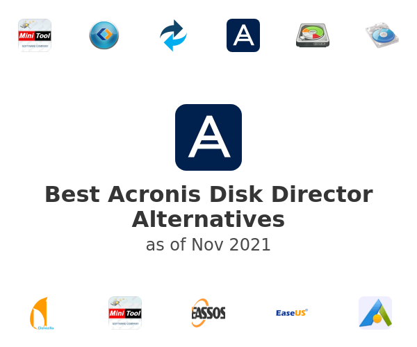Best Acronis Disk Director Alternatives