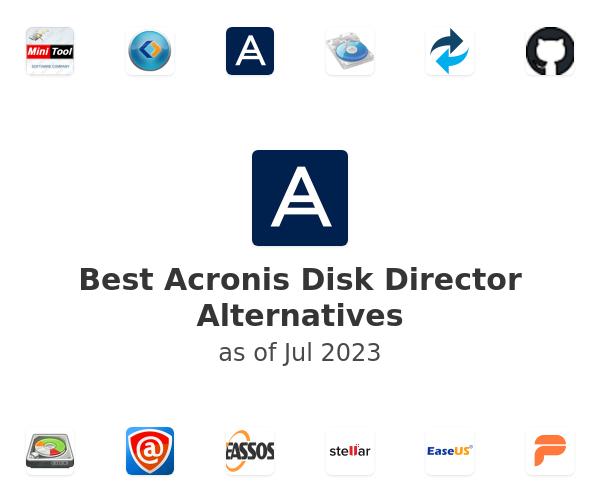 Best Acronis Disk Director Alternatives