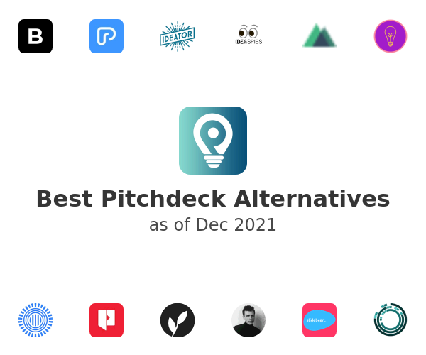 Best Pitchdeck Alternatives