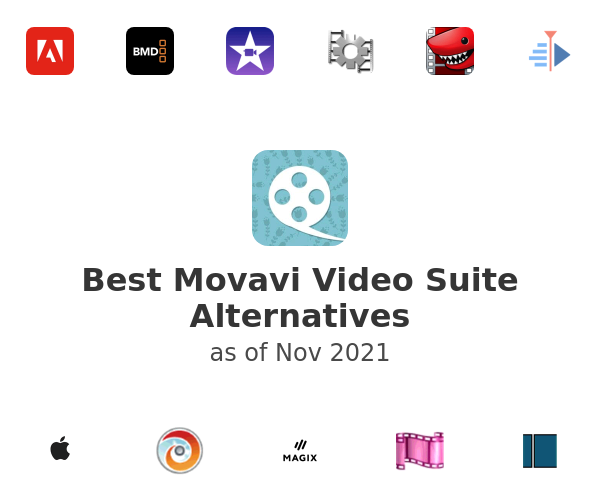 Best Movavi Video Suite Alternatives