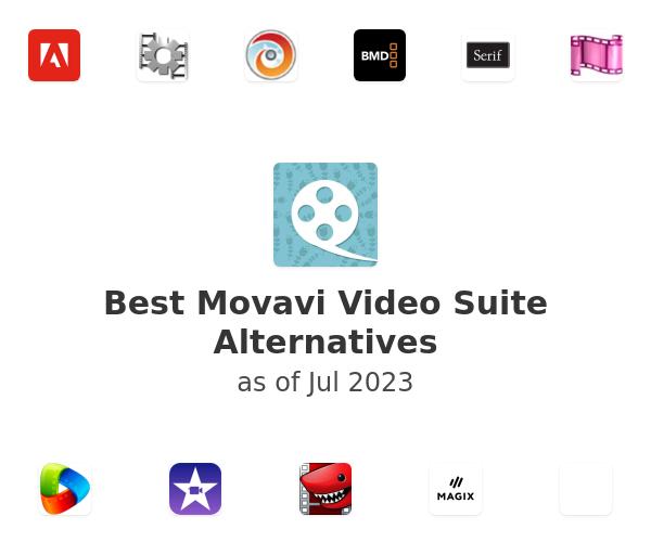 Best Movavi Video Suite Alternatives