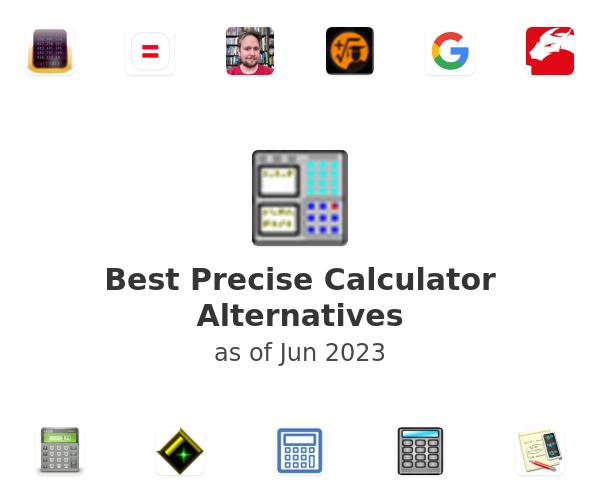 Best Precise Calculator Alternatives