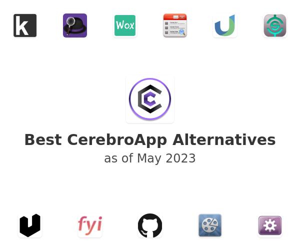Best CerebroApp Alternatives