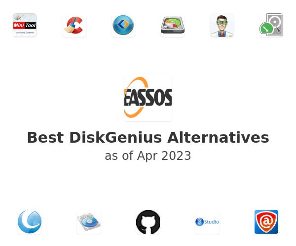 Best DiskGenius Alternatives
