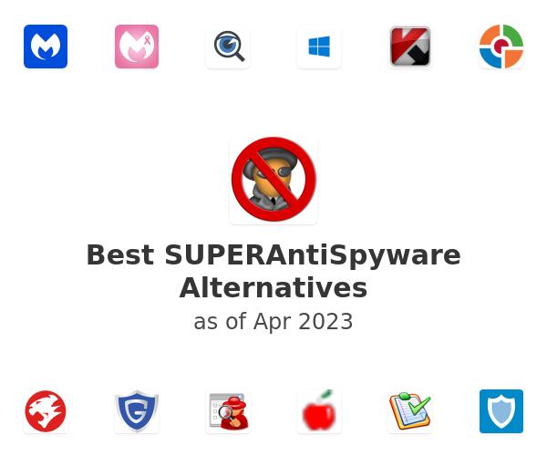 Best SUPERAntiSpyware Alternatives