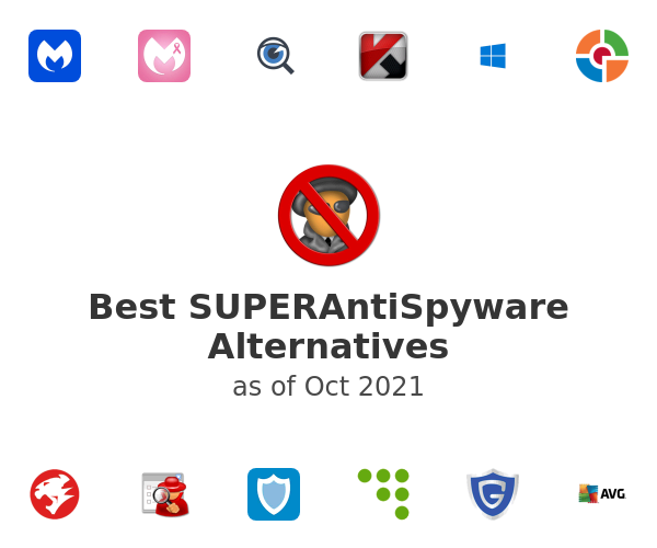 Best SUPERAntiSpyware Alternatives
