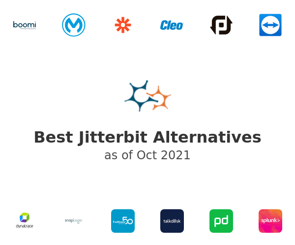 Best Jitterbit Alternatives