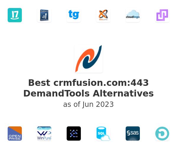 Best crmfusion.com:443 DemandTools Alternatives