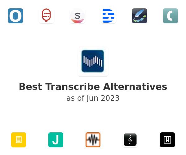 Best Transcribe Alternatives