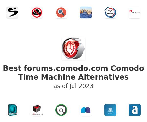 Best Comodo Time Machine Alternatives