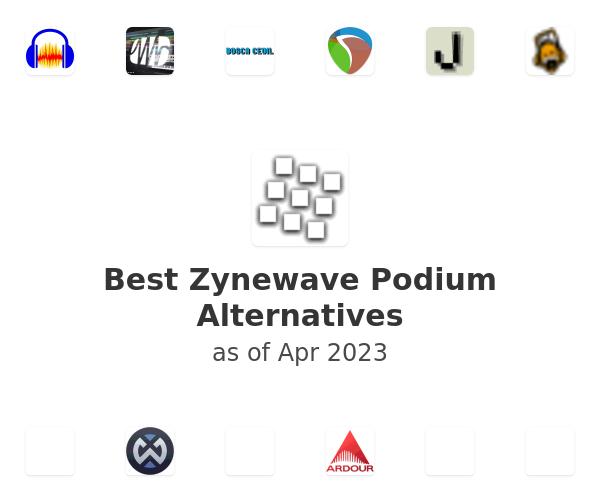 Best Zynewave Podium Alternatives