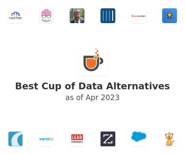 Best Cup of Data Alternatives