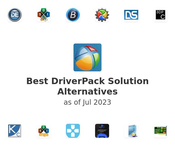Best DriverPack Solution Alternatives