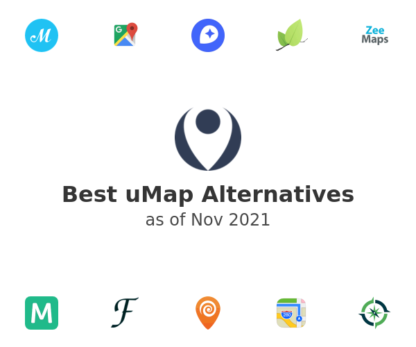Best uMap Alternatives
