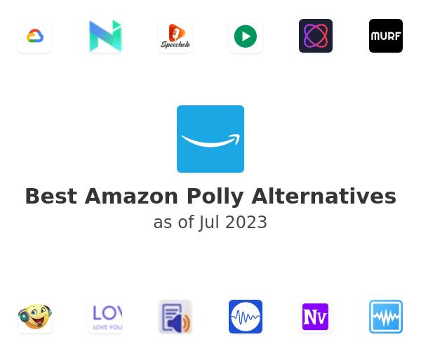 Best Amazon Polly Alternatives