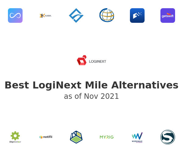 Best LogiNext Mile Alternatives