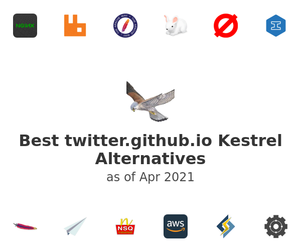 Best twitter.github.io Kestrel Alternatives