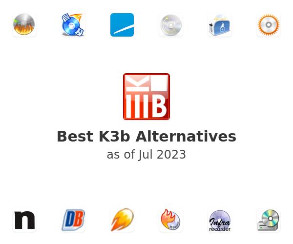 Best K3b Alternatives