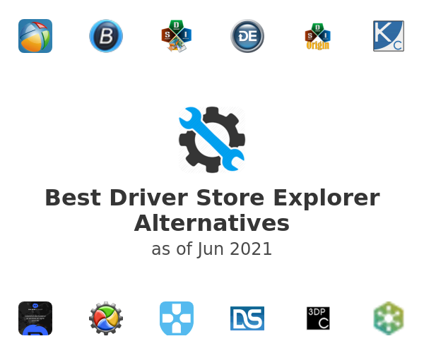 Best Driver Store Explorer Alternatives