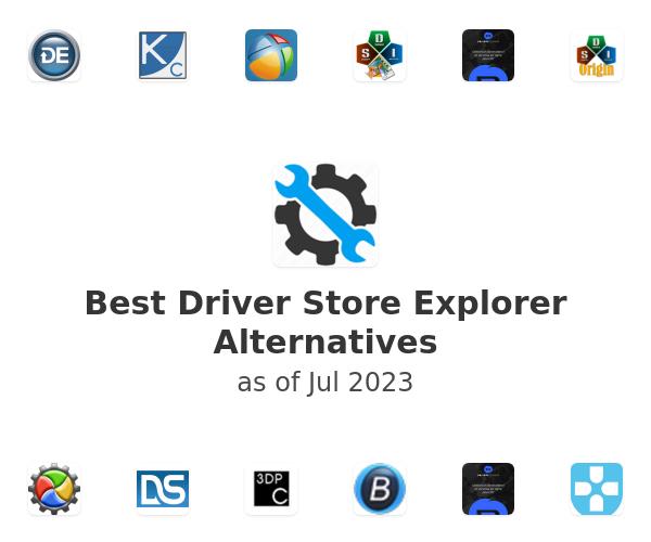 Best Driver Store Explorer Alternatives