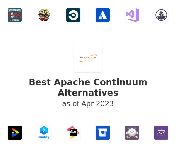 Best Apache Continuum Alternatives