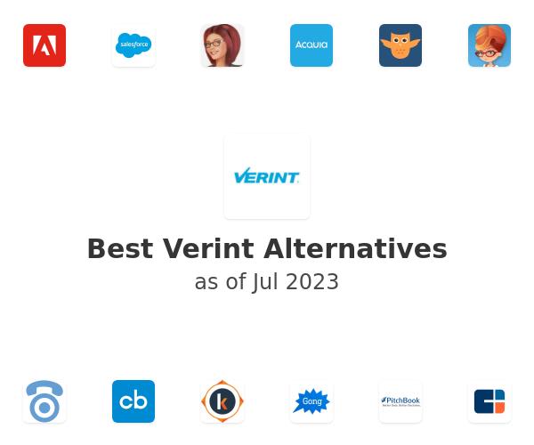 Best Verint Alternatives