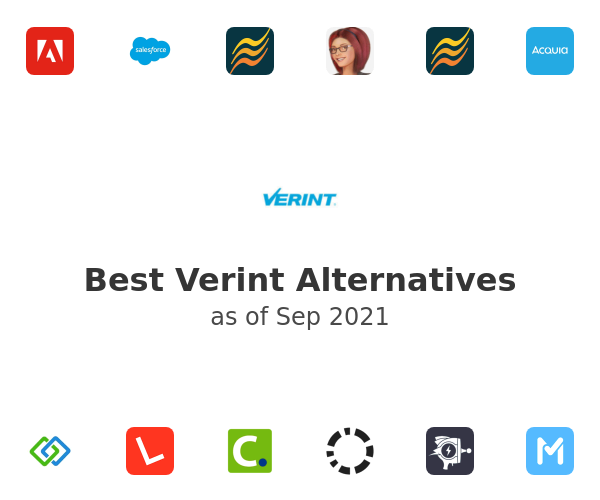 Best Verint Alternatives