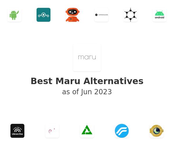 Best Maru Alternatives