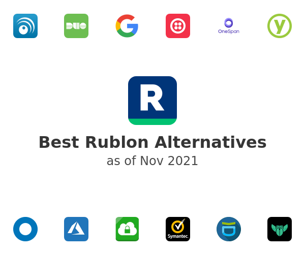Best Rublon Alternatives