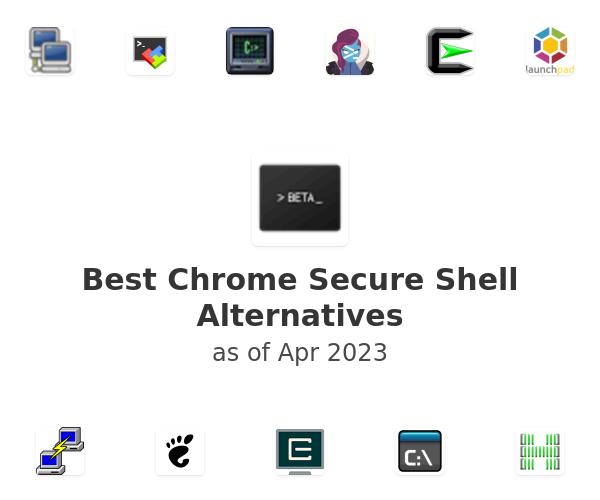 Best Chrome Secure Shell Alternatives