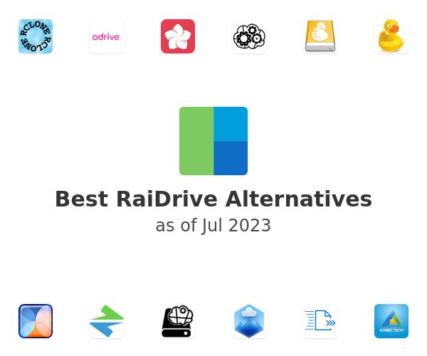 Best RaiDrive Alternatives