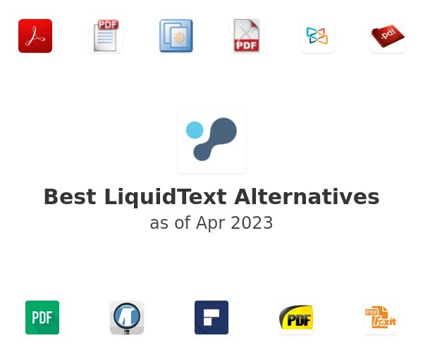 Best LiquidText Alternatives