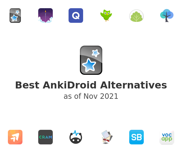 Best AnkiDroid Alternatives