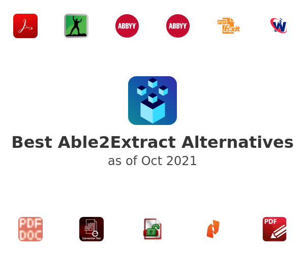 Best Able2Extract Alternatives