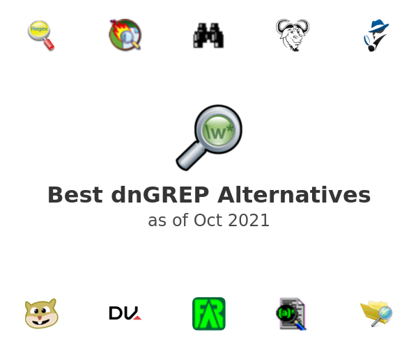 Best dnGREP Alternatives