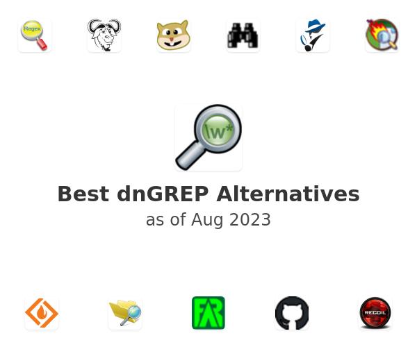Best dnGREP Alternatives