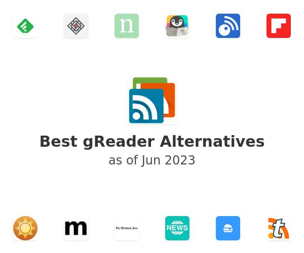 Best gReader Alternatives