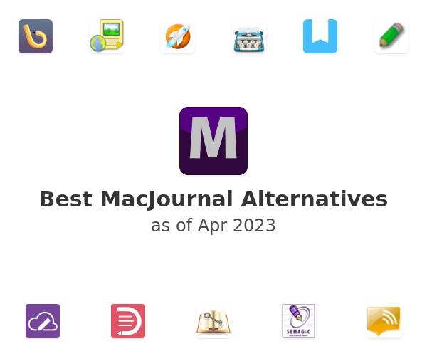 Best MacJournal Alternatives