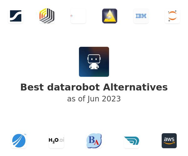 Best datarobot Alternatives