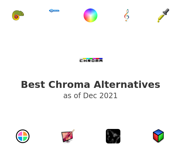 Best Chroma Alternatives