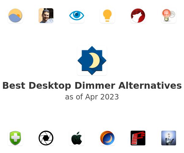 Best Desktop Dimmer Alternatives