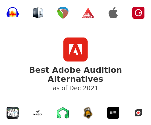 Best Adobe Audition Alternatives