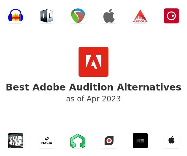 Best Adobe Audition Alternatives