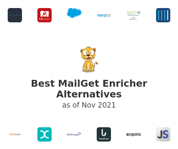 Best MailGet Enricher Alternatives