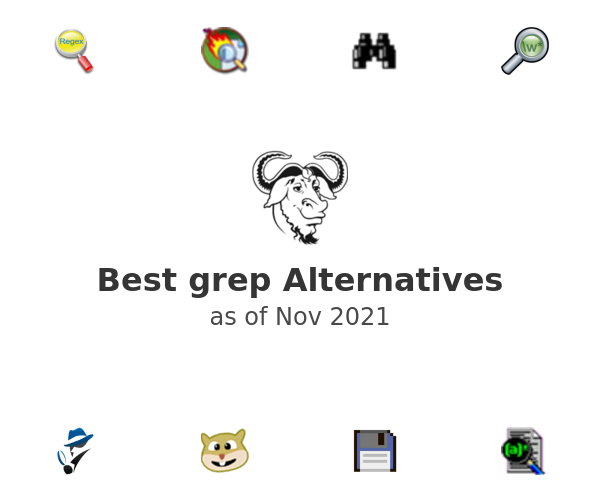 Best grep Alternatives