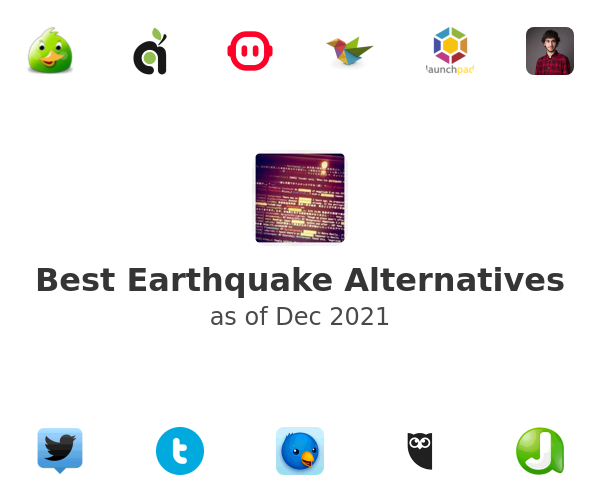 Best Earthquake Alternatives