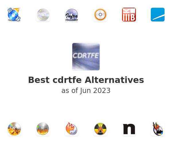 Best cdrtfe Alternatives