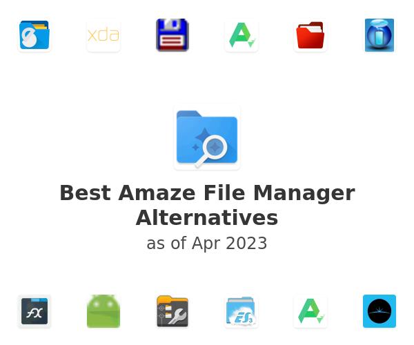 Best Amaze File Manager Alternatives